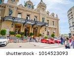 Small photo of MONTE CARLO, MONACO 24 MAY 2017: Beautiful Casino de Monte-Carlo in Monte Carlo, Monaco