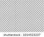 black and white polka dot... | Shutterstock .eps vector #1014523237