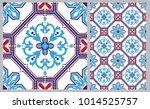 arabic patter style tiles for...   Shutterstock .eps vector #1014525757