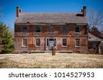 a view of the abandoned ... | Shutterstock . vector #1014527953
