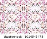 aztec pattern. tribal design.... | Shutterstock . vector #1014545473