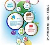 eps10 vector abstract bubble...   Shutterstock .eps vector #101455033