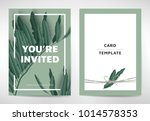 greeting invitation card...