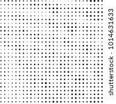 grunge halftone black and white ... | Shutterstock . vector #1014631633