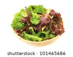 Mix lettuce - stock photo