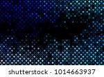 dark blue vector  texture with... | Shutterstock .eps vector #1014663937