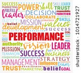 performance word cloud collage  ... | Shutterstock .eps vector #1014721927