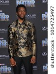 chadwick boseman at the world... | Shutterstock . vector #1014725497