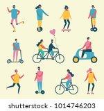 vector illustration in flat... | Shutterstock .eps vector #1014746203