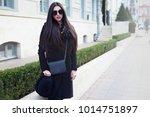 outdoor portrait of young... | Shutterstock . vector #1014751897