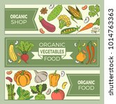 eat healthy food poster with... | Shutterstock .eps vector #1014763363