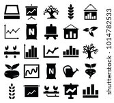 growing icons. set of 25...   Shutterstock .eps vector #1014782533
