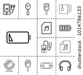 portable icons. set of 13...   Shutterstock .eps vector #1014786133