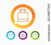 hypermarket and trade vector... | Shutterstock .eps vector #1014807343