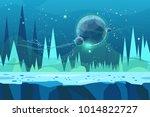 seamless cartoon  landscape for ...