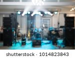 music sphen blurred background | Shutterstock . vector #1014823843