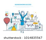 businesswoman success