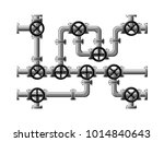image of piping composed of... | Shutterstock .eps vector #1014840643