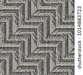 abstract broken geometric... | Shutterstock .eps vector #1014883723