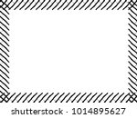 grunge frame. vector... | Shutterstock .eps vector #1014895627