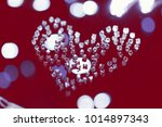 natural transparent diamonds in ...   Shutterstock . vector #1014897343