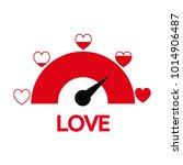 valentine's day card idea love... | Shutterstock .eps vector #1014906487