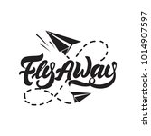 Flay Away Logo In Lettering...