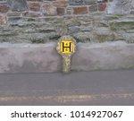 Concrete Marker Post For A Fir...