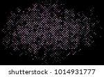 dark black vector blurry... | Shutterstock .eps vector #1014931777