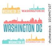 washington dc usa flat icon... | Shutterstock .eps vector #1014947107