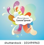 funny abstract background | Shutterstock .eps vector #101494963