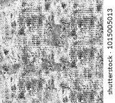 grunge black white. monochrome... | Shutterstock . vector #1015005013