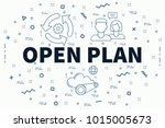 conceptual business... | Shutterstock . vector #1015005673