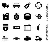 origami style icon set   car... | Shutterstock .eps vector #1015020853