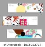 abstract universal art web... | Shutterstock .eps vector #1015022737