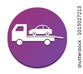 tow car evacuation sign. vector.... | Shutterstock .eps vector #1015027213