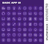big basic app ui  ux and office ...