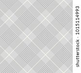 glen plaid pattern in grey ...   Shutterstock .eps vector #1015114993