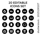 electronic icons. set of 20...   Shutterstock .eps vector #1015130107