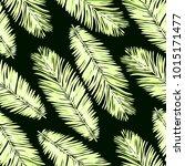 watercolor seamless pattern... | Shutterstock .eps vector #1015171477