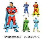 classic superhero and cool...