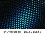 metal mesh grild. abstract 3d... | Shutterstock . vector #1015216663