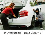 crime concept   criminals... | Shutterstock . vector #1015220743