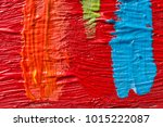 abstract painting background.... | Shutterstock . vector #1015222087