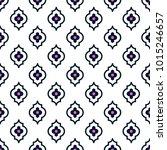 quatrefoil seamless line vector ... | Shutterstock .eps vector #1015246657