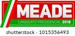 meade  jose antonio meade ... | Shutterstock .eps vector #1015356493