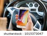 new york  usa   february 01 ... | Shutterstock . vector #1015373047