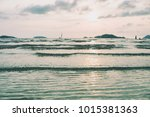 a beautiful seascape view | Shutterstock . vector #1015381363