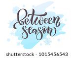 lettering typography icon ... | Shutterstock .eps vector #1015456543