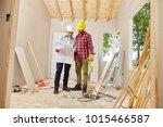 master craftsman and artisan... | Shutterstock . vector #1015466587